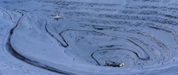 Infinet solutions supports mining beyond the Arctic Circle at the Nornickel quarry