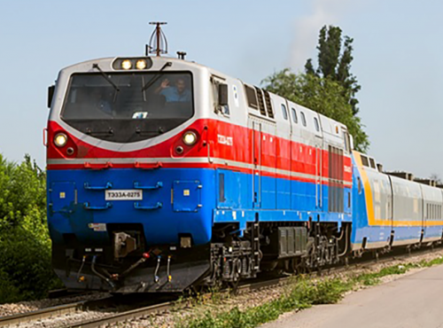 High capacity connectivity for the Kazakhstan Railway Network