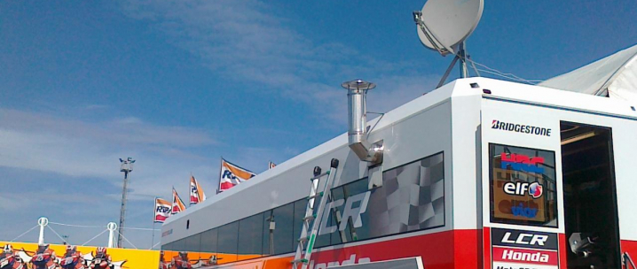 LCR Honda races ahead with InfiNet Wireless